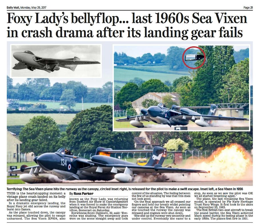 Foxy Lady Plane Crash